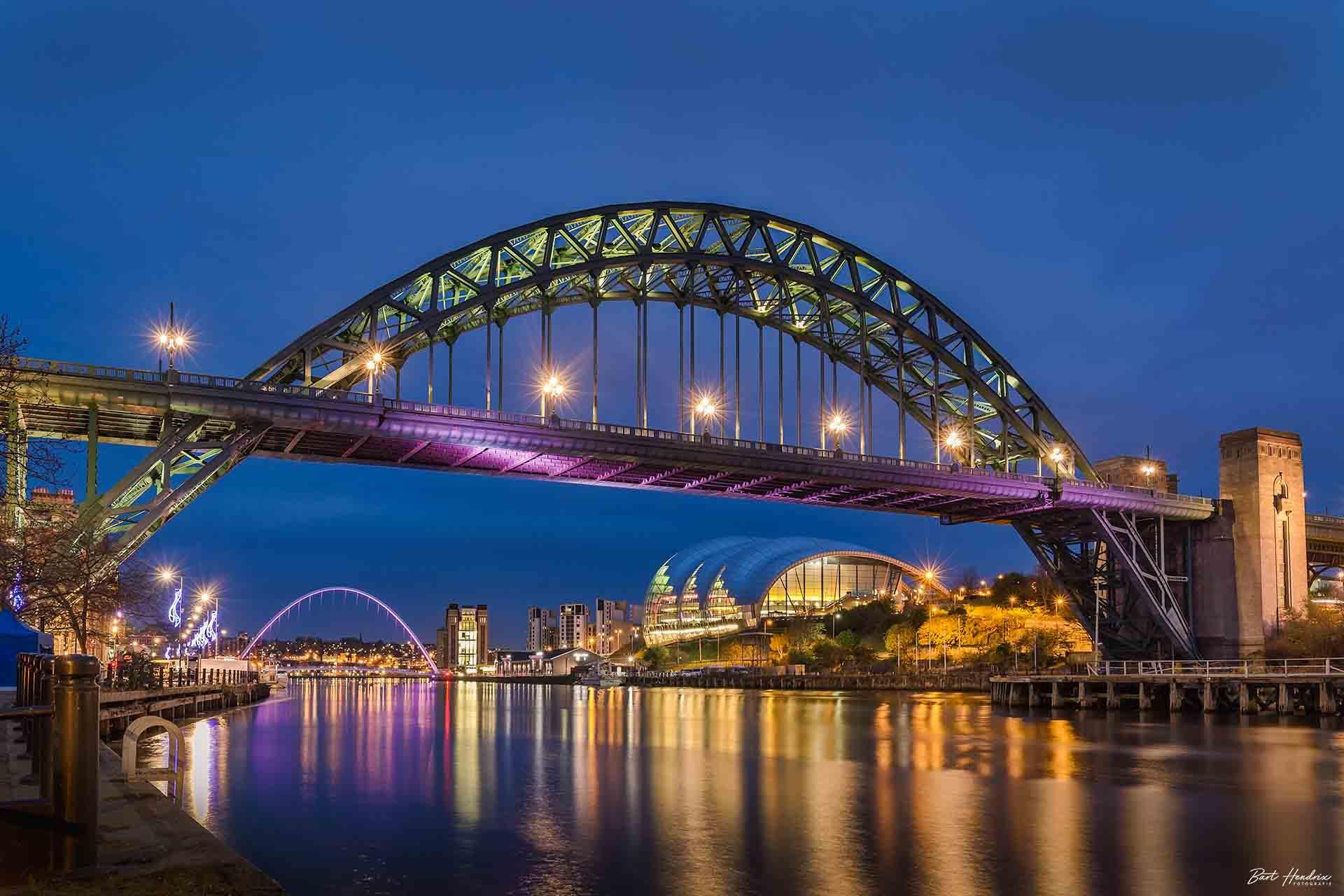 Hendrix Bart Tyne Bridge Newcastle