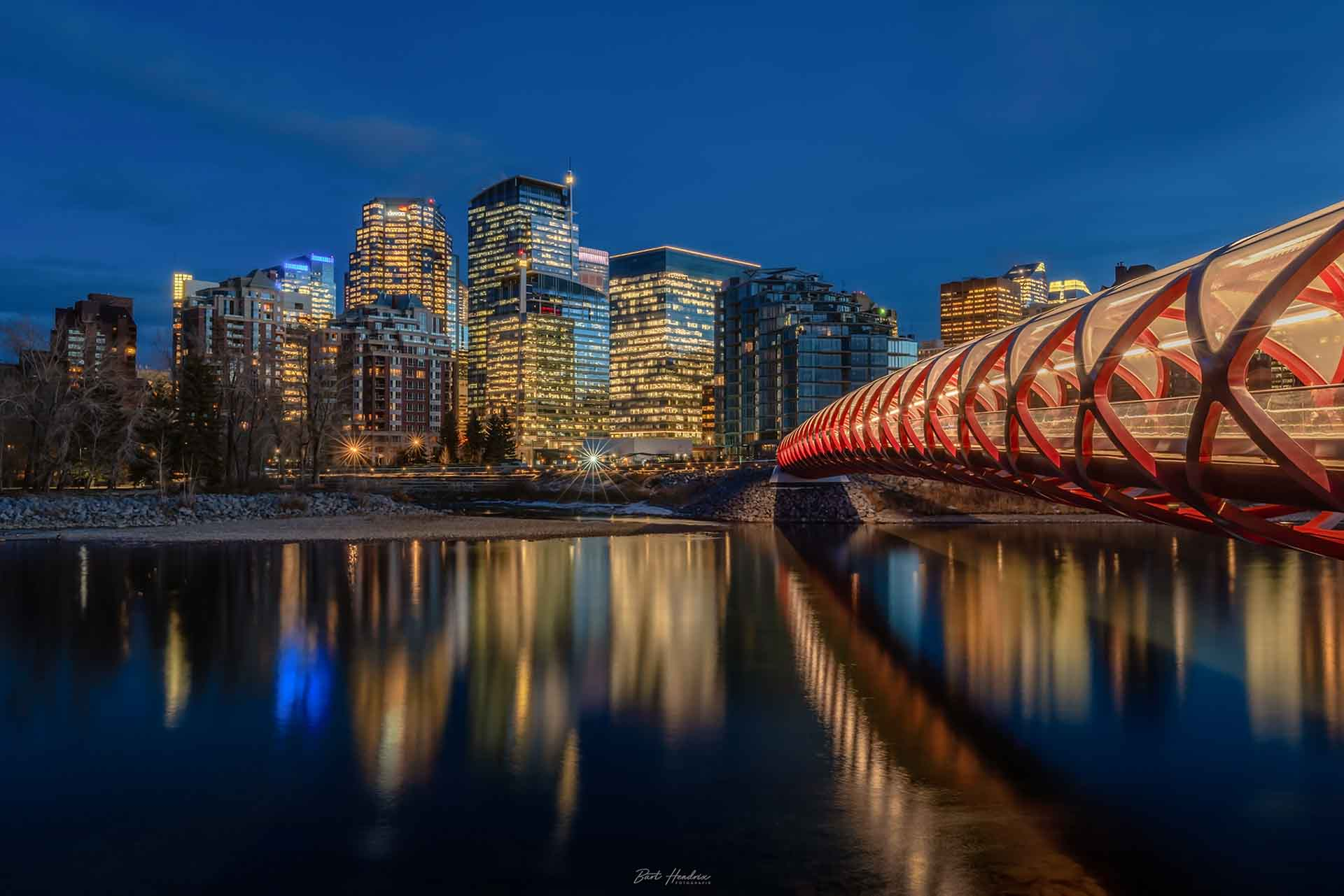 Hendrix Bart Peace Bridge, Calgary Canada