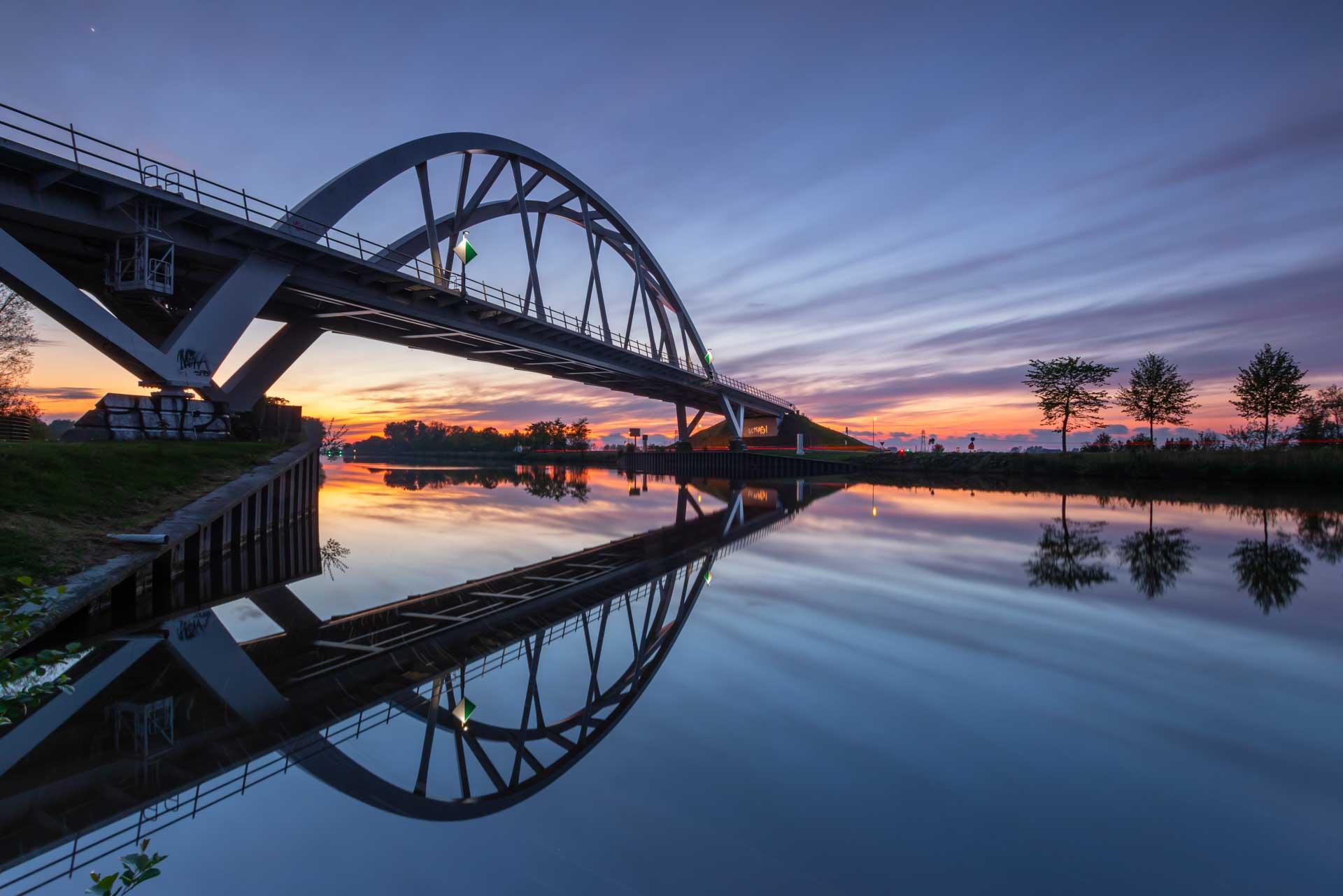 Pascal Teschner Walfridusbrug starkenborghkanaal Groningen